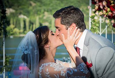 Сватбата на Бети и Адриано, р-т Лебед