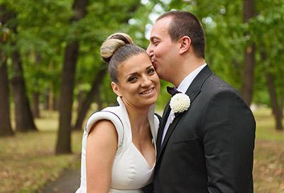 Сватбата на Ина и Дими, парк хотел Москва