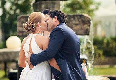 Сватбата на Мариела и Иван, Шато Копса
