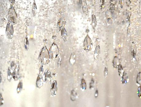 Декорация от кристали