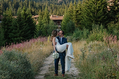 Сватбата на Симона и Слави, Смолянски езера