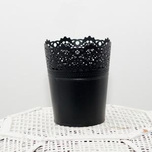 Метален съд за цветя/свещи